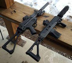 Sub Machine gun Sunday! @dakotatactical D54R-N Lage M11/9 #alexandryandesign Alexandryandesign.com