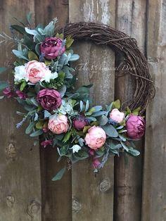 Bridal Shower Wreaths, Wedding Wreaths, Spring Front Door Wreaths, Fall Wreaths, Floral Wreaths, Burlap Wreaths, Ribbon Wreaths, Diy Wreath, Tulle Wreath