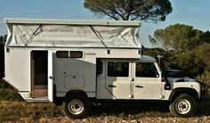 rv unimog - With nice roof construction
