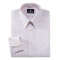 Stafford® Blended Oxford Dress Shirt Big & Tall - JCPenney
