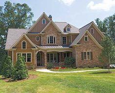 Plan W15601GE: Luxury, Corner Lot, European, Photo Gallery, Traditional House Plans & Home Designs