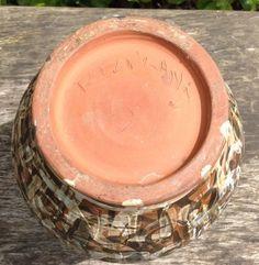 Mystery vase - signed Rowland