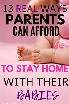 How to Stay at Home With Your Kids & Save Money Are you wondering how to stay home and save money? As a stay at home mom who needed to make ends meet, I've tried all these tips and found success. Make Money Now, Money Today, Make Money From Home, Baby On A Budget, Save The Children, Stay At Home Mom, Frugal Living Tips, Money Matters, Online Work