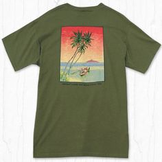 FREE SHIPPING - EVERY ORDER, EVERY DAY!  KAHALA Paradise-T      100% cotton     Regular fit