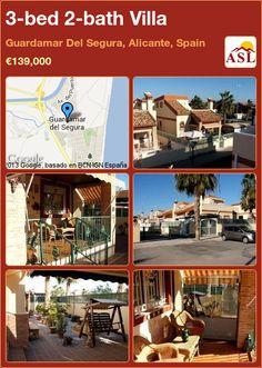 3-bed 2-bath Villa in Guardamar Del Segura, Alicante, Spain ►€139,000 #PropertyForSaleInSpain