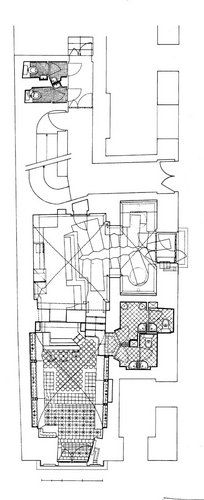 Kleines Café, Plan: Hermann Czech Architecture Plan, Architectural Drawings, Floor Plans, How To Plan, Modern Interiors, Conception, Space, Google Search, Honey