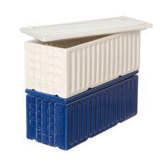 Areaware - ceramic cargo containers  $24.00