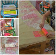 12 techniques de peinture à essayer avec les enfants - Brico enfant - Trucs et Bricolages Petite Section, Ideas Geniales, Animation, Deco, Guide, Creations, Grandchildren, Learning, Activities