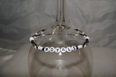 Kansas City Royals Upper Arm Cuff or Ankle by TheEccentricBead