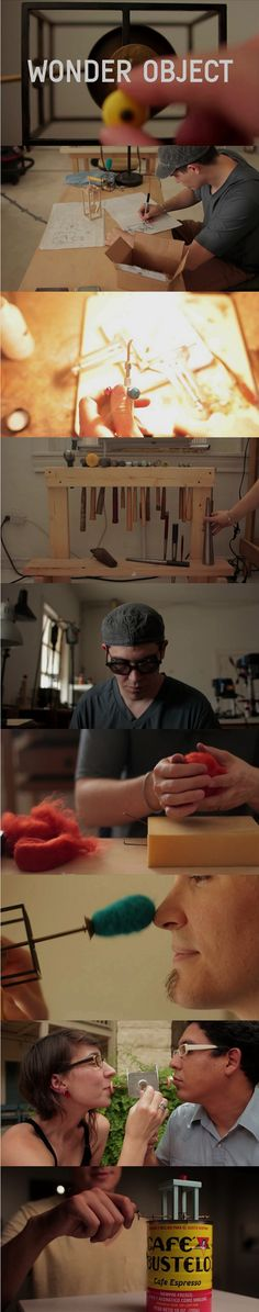 American artist Gary Schott utilizes his skills as a Metalsmith to create playful and beautiful mechanized objects. Via F7 Jewellery (click through to see the video!)