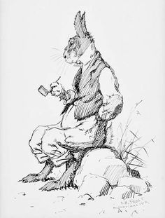 brer hare. my dad used to read brer rabbit to us and to my children.