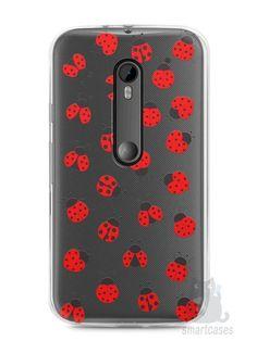Capa Moto G3 Joaninhas #1 - SmartCases - Acessórios para celulares e tablets :)