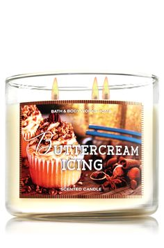 Buttercream Icing 3-Wick Candle - Home Fragrance 1037181 - Bath & Body Works