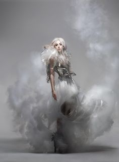 Lady Gaga photographed by Nick Knight for Vanity Fair, September 2010.