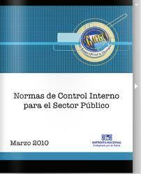 Normas de control interno par ael sector público