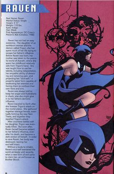 Raven DC Comics | Raven - Text by Geoff Johns, Art by Pascual Ferry