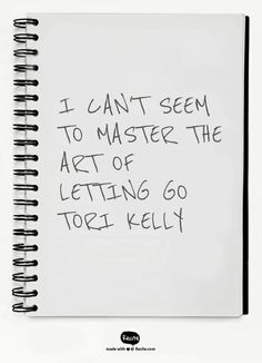 Tori Kelly - Art Of Letting Go
