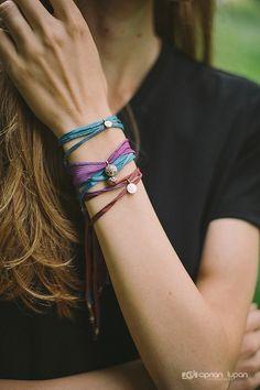 Zen bracelets in Paris <3 Thank you! *Design by The Zen Project
