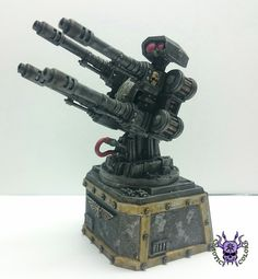 Aegis Defense Lines - Quad Gun #ChaoticColors #commissionpainting #paintingcommission #painting #miniatures #paintingminiatures #wargaming #Miniaturepainting #Tabletopgames #Wargaming #Scalemodel #Miniatures #art #creative #photooftheday #hobby #paintingwarhammer #Warhammerpainting #warhammer #wh #gamesworkshop #gw #Warhammer40k #Warhammer40000 #Wh40k #40K #terrain #scenery #Scifi #AegisDefenseLines #Quadgun Warhammer Terrain, 40k Terrain, Warhammer 40k Miniatures, Warhammer 40000, Tabletop Games, Space Marine, Sci Fi Art, Quad, Scenery