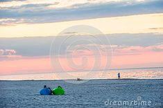 Two People Relaxing On Mattresses Stock Image - Image of inspiration, positive: 120067663 Sunset Sea, Two People, Mattresses, Relax, Inspiration, Image, Biblical Inspiration, Inspirational, Inhalation