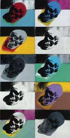 "Andy Warhol: "" Skulls"" , 1976"
