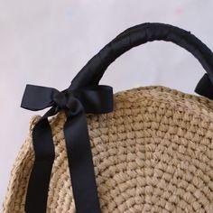 裂き編みバッグ(ラウンド型)の画像4枚目