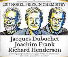 Hadiah Nobel Kimia tahun 2017 baru saja diberikan kepada Jacques Dubochet, Joachim Frank, dan Richard Henderson atas kontribusi mereka dalam mengembangkan teknik mikroskopi elektron suhu rendah (kr…