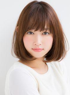 柔らかい質感カットのワンカールボブ 【Ramie】 http://beautynavi.woman.excite.co.jp/salon/27006?pint ≪ #bobhair #bobstyle #bobhairstyle #hairstyle・ボブ・ヘアスタイル・髪型・髪形 ≫