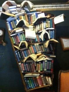 Book Magic displayed at fantastic used bookstore - The Last Bookstore in L.A.