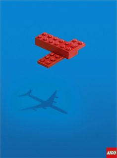 This lego ad is so creative. Kids really make things come to life by using lego pieces. Dream Bigger with Lego. Creative Advertising, Advertising Design, Advertising Campaign, Advertising Ideas, Advertising Poster, School Advertising, Radio Advertising, Image Republic, Lego Plane