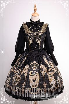 here be dragons — Krad Lanrete The Venice Carnival series pre-order. Harajuku Fashion, Kawaii Fashion, Cute Fashion, Asian Fashion, Rock Fashion, Emo Fashion, Style Lolita, Gothic Lolita Fashion, Gothic Lolita Dress
