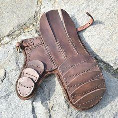 LINKEN Leder Handschuh für LARP oder SCA Schwertkampf Wikinger Kelten Mittelalter Gauntlet Handschuhe Armor Rüstung Armory
