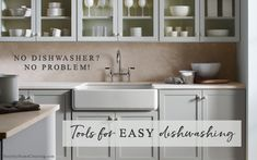 No Dishwasher? No Problem. Tools For Easy Dishwashing!