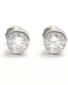 Pendientes de plata y circonita Engagement Rings, Jewelry, Jewels, Enagement Rings, Schmuck, Anillo De Compromiso, Jewerly, Jewelery, Diamond Engagement Rings
