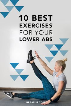 Best Exercises for Your Lower Abs Not sure exactly how to hit those lower belly muscles?Not sure exactly how to hit those lower belly muscles? Body Fitness, Fitness Tips, Health Fitness, Fitness Workouts, Workout Exercises, Abdominal Exercises, Exercises For Lower Abs, Core Exercises, Workout Abs