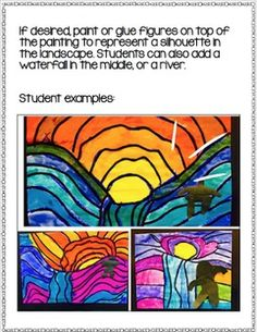 FREE Art History Guided Lesson and Art Project - Whimsy Workshop Middle School Art Projects, Art School, Warm And Cool Colors, Art Classroom, Classroom Ideas, Easy Art Projects, Step By Step Painting, Indigenous Art, Simple Art