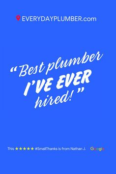 1 Trusted Tampa Bay Area Plumbers