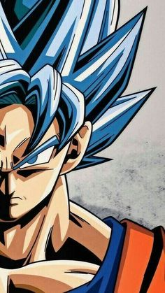 Goku ssjPinned from Uploaded b Dragon Ball Gt, Blue Dragon, Wallpaper Do Goku, Mobile Wallpaper, Foto Do Goku, Animes Wallpapers, Wallpapers Wallpapers, Anime Art, Fan Art