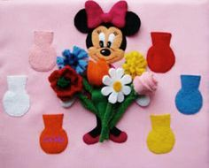 Minnie Mouse. Quiet book ideas