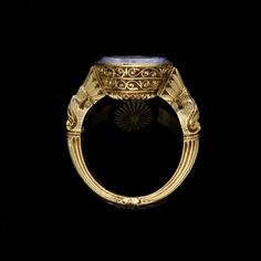Late Victorian - Vintage & Antique Victorian Jewelry, Antique Jewelry, Vintage Jewelry, Victorian Era, Bishop Ring, Mourning Jewelry, Contemporary Jewellery, Vintage Accessories, Shades Of Blue
