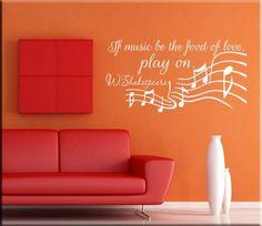 red and orange loving room