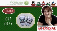 Speciale Natale - Cup cozy (un caldo buongiorno!) #mug cozy #cup cozy #video tutorial #crochet cozy zup #free pattern #per filo e segno