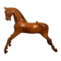 Antique Play Horse - 3 Ft Tall