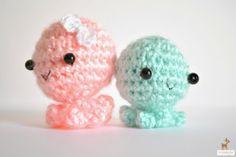 ****would make cute key chain****  Little Things Blogged: {Guest Post / / Amigurumi Tiny Octopus by The Wandering Deer}
