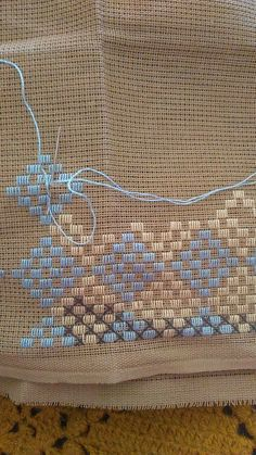 Bargello, Jute Crafts, Hardanger Embroidery, Bead Jewellery, Cross Stitch Patterns, Lassi, Beads, Crochet, Fabric