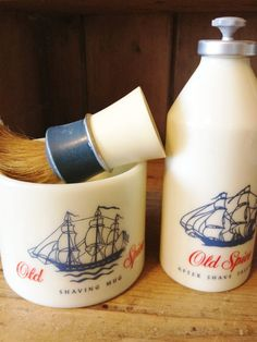 Men's/Father's Day Vintage Old Spice Grooming by Semellebescottage, $18.00