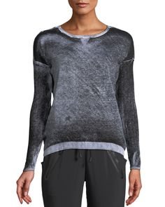Get free shipping on Blanc Noir Boyfriend Crewneck Long-Sleeve Pullover Sweater at Neiman Marcus. Shop the latest luxury fashions from top designers.