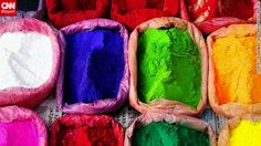 This image of colorful powders, which are used to make rangoli artworks during Diwali, was snapped by  CNN iReporter Digamber Singh Rayamajhi as he walked through the busy streets of Kathmandu, Nepal.