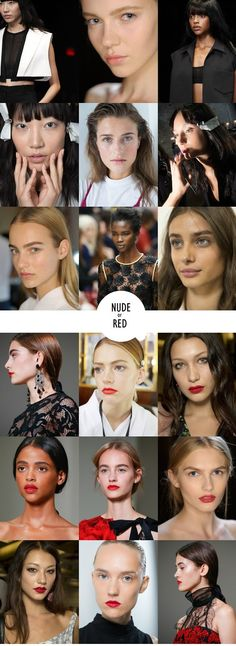 Beauty of FW2015: Two shades of lipstick
