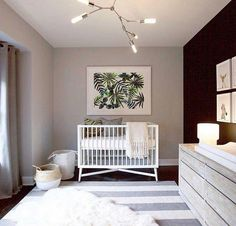 Bring your baby girl home to an adorable and functional nursery. Here are some baby girl nursery design ideas for all of your decor, bedding, and furniture. Baby Boy Nursery Themes, Baby Boy Rooms, Baby Boy Nurseries, Baby Decor, Room Baby, Unisex Nursery Ideas, Unisex Baby Room, Girl Decor, Nursery Modern